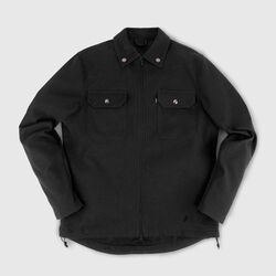 Ike Windshirt in Black - small view.