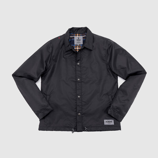 Dearborn Coaches Jacket in Black - medium view.
