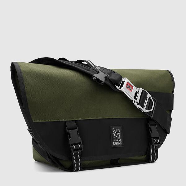 Mini Metro Messenger Bag in Ranger / Black - medium view.