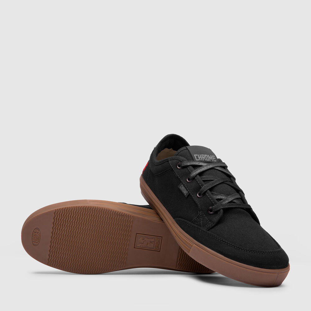 Mirko Sneaker in Black / Gum - large view.