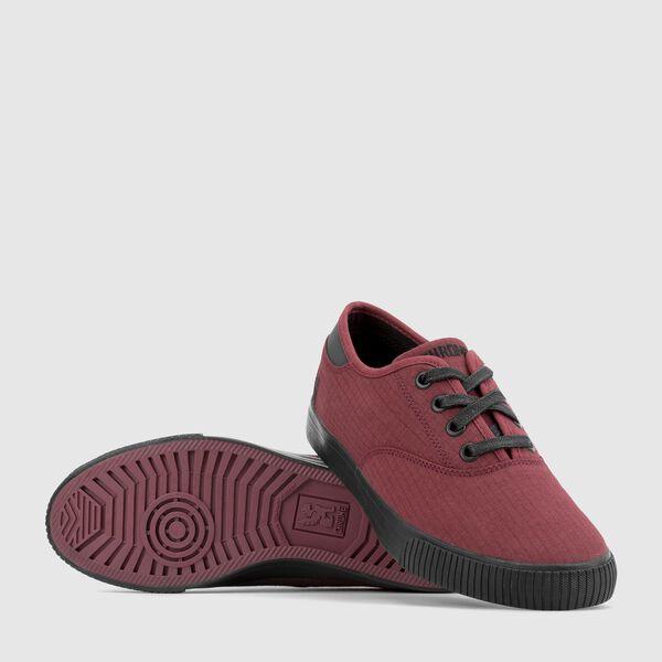 Box Canvas Truk Sneaker in Brick / Black - medium view.