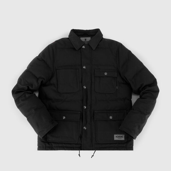Calhoun Work Jacket in Black - medium view.