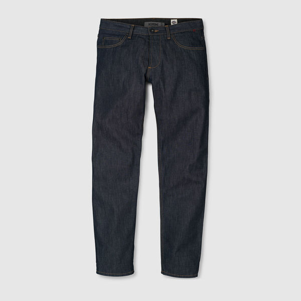 Wyatt Five Pocket Jean in Indigo Dyneema - medium view.