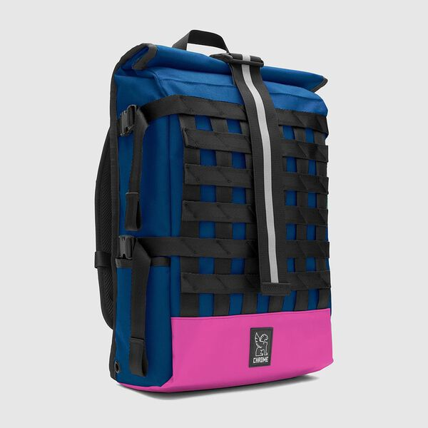 Barrage Cargo Backpack in Royal Blue / Pink - medium view.