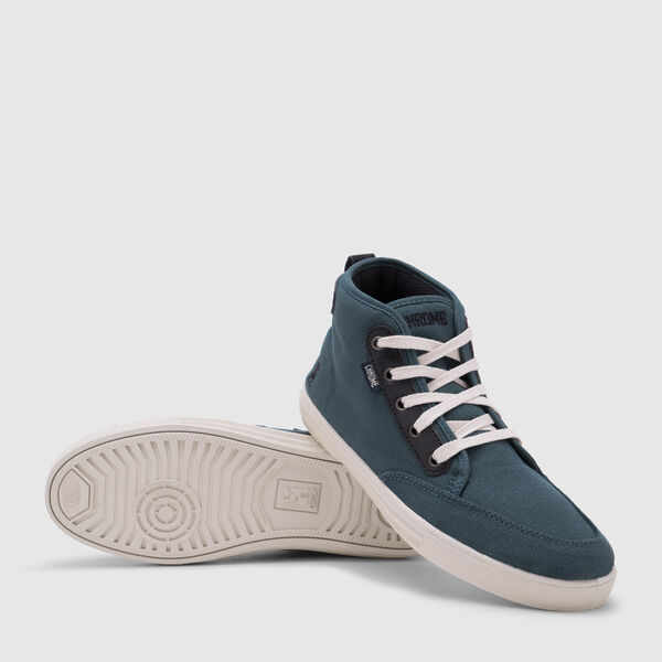 Peshka Sneaker in Indigo / Off White - medium view.