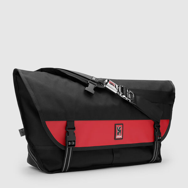 Metropolis Messenger in Black / Red - medium view.