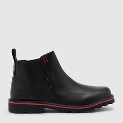 212 Chelsea Boot in Black - small view.