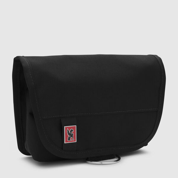 Pro Utility Pouch in Black / Red - medium view.