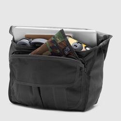 Mini Buran Messenger Bag - Final Sale in All Black - small view.