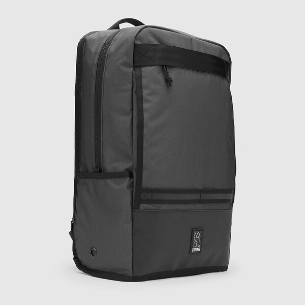 The Welterweight Hondo Backpack in Charcoal / Black - medium view.