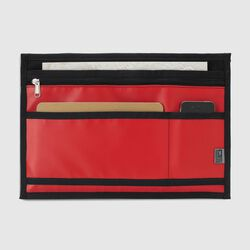 Messenger Organizer in Red - small view.