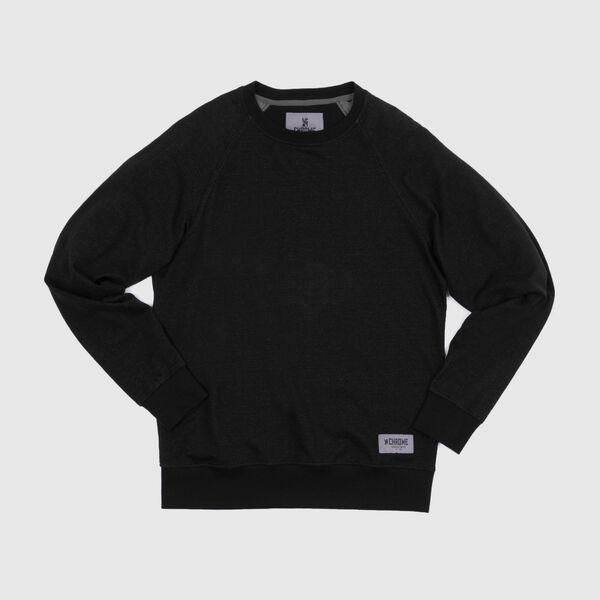 Essex Custom Crewneck Sweatshirt in Black - medium view.