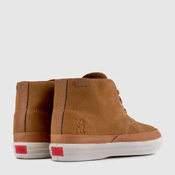 Suede Chukka in Golden Brown / Off White - small view.