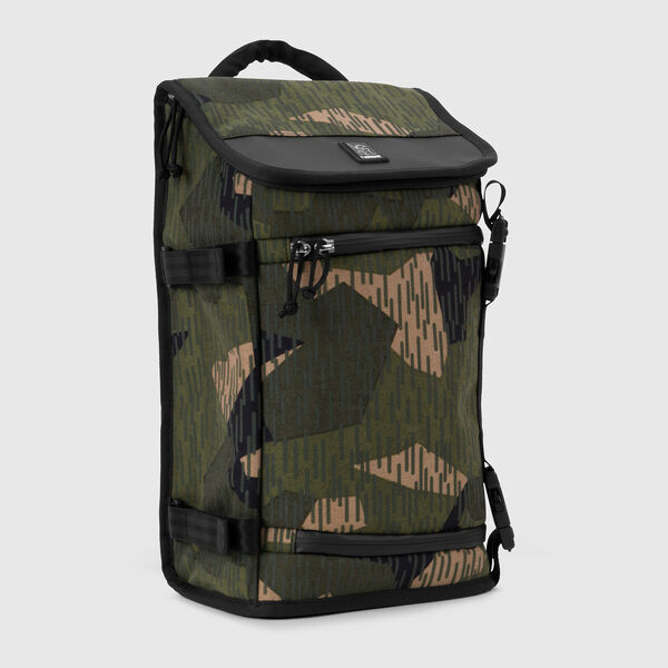 Niko Messenger Bag in Reflective Camo - medium view.