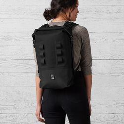 Urban Ex Rolltop 18L Backpack in Black - small view.