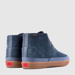 Suede Chukka in Indigo / Golden Brown - small view.