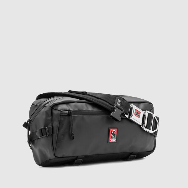 Kadet Tarp Messenger Bag in Asphalt - medium view.