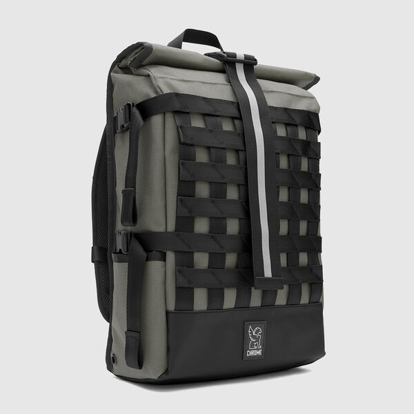 Barrage Cargo Backpack in Smoke / Black - medium view.