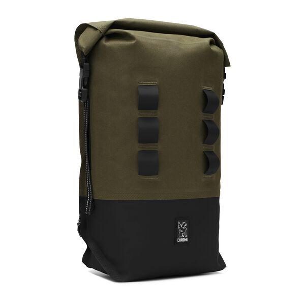 Urban Ex Rolltop 18L Backpack in Ranger / Black - medium view.