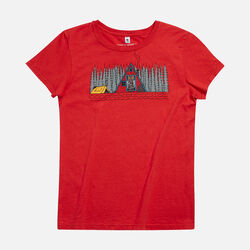 Women's A Frame T-Shirt in  - small view.