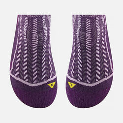 Women's Gracie Lite Crew in Dark Purple/Violet - small view.