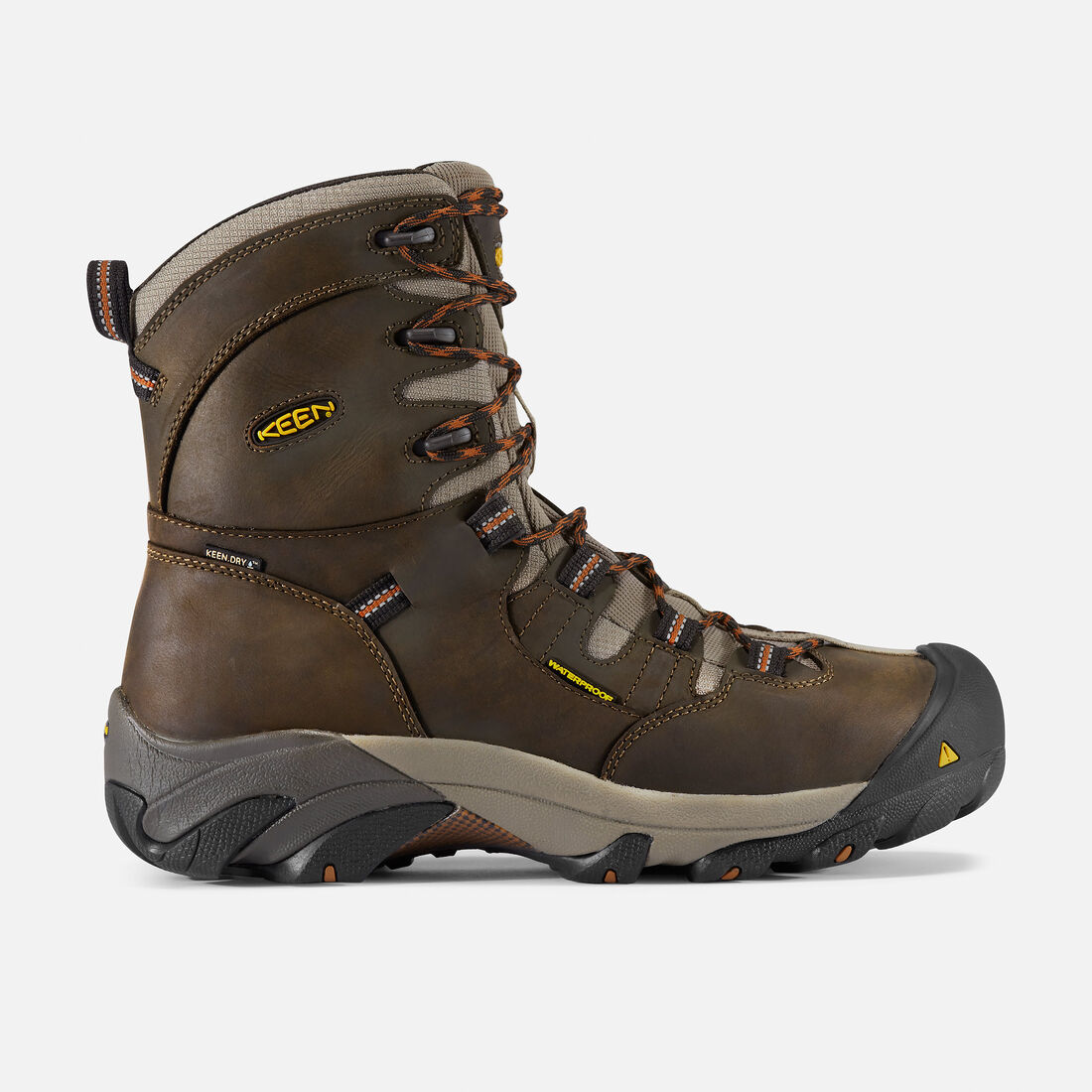 "Men's Detroit 8"" (Steel Toe) in Black Olive - large view."