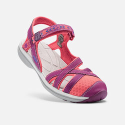 Women's Sage Ankle in Dark Purple/Deep Coral - small view.