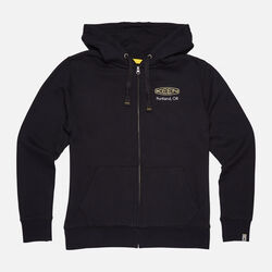 Men's KEEN PDX HOODIE in Black - small view.