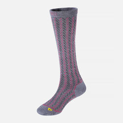 Women's Gracie Lite Knee-High in Steel Blue / Rose / Charcoal - small view.
