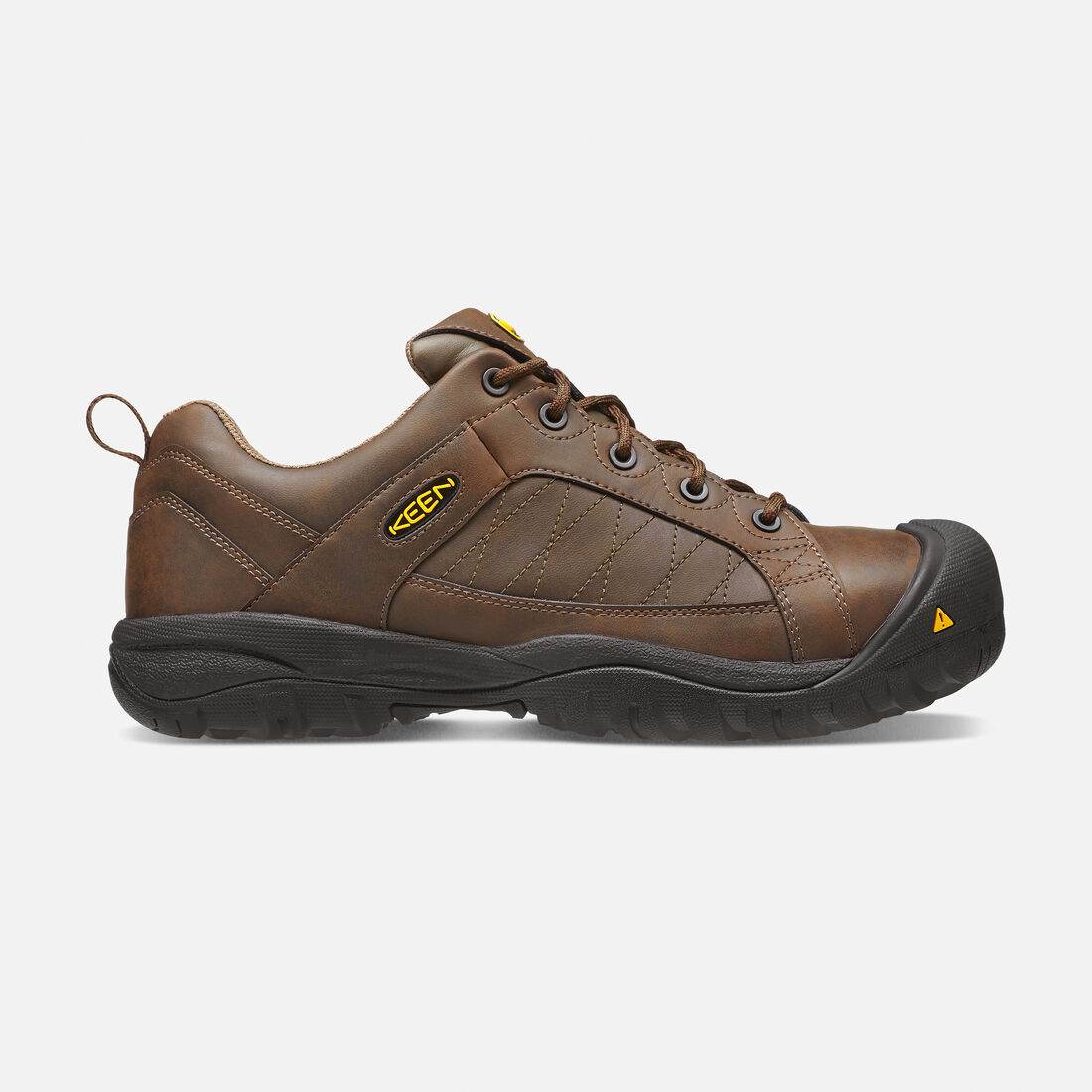 Men's Mesa ESD (Steel Toe) in Cascade Brown/Forest Night - large view.