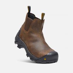 Men's Detroit Slip-On (Steel Toe) in Cascade Brown - small view.