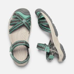 Women's BALI STRAP in Canteen/Malachite - small view.