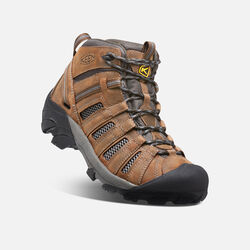 Men's Voyageur Mid in Cascade Brown/Raven - small view.