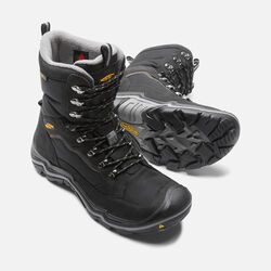 Men's Durand Polar Waterproof in Black/Gargoyle - small view.