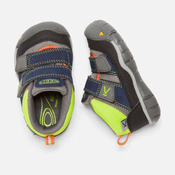 Toddlers' Peek-A-Shoe in Dress Blues/Macaw - small view.