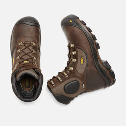 Men's Leavenworth Insulated Waterproof (Steel Toe) in Cascade Brown - small view.