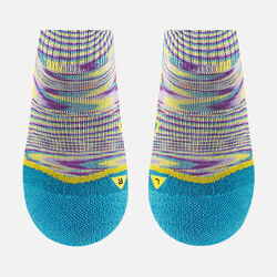 Kids' Concord Lite Crew in Hollyhock / Caribbean Blue - small view.
