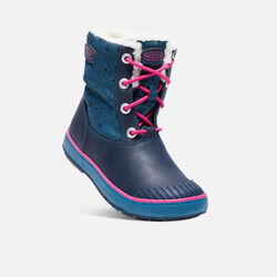 Big Kids' Elsa Boot in Ink Blue/Very Berry - small view.
