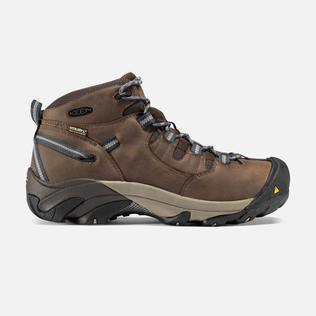 Men's Detroit Mid (Steel Toe) in Slate Black - large view.