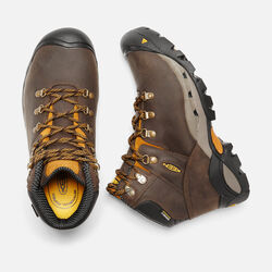 Men's Cleveland (Steel Toe) in Cascade Brown/Inca Gold - small view.