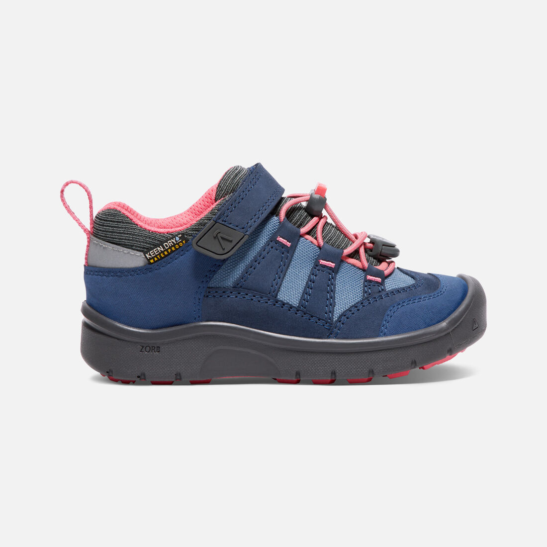Little Kids' HIKEPORT Waterproof in Dress Blues/Sugar Coral - large view.