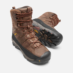 Men's Minot Insulated (Steel Toe) in Cascade Brown/Bossa Nova - small view.