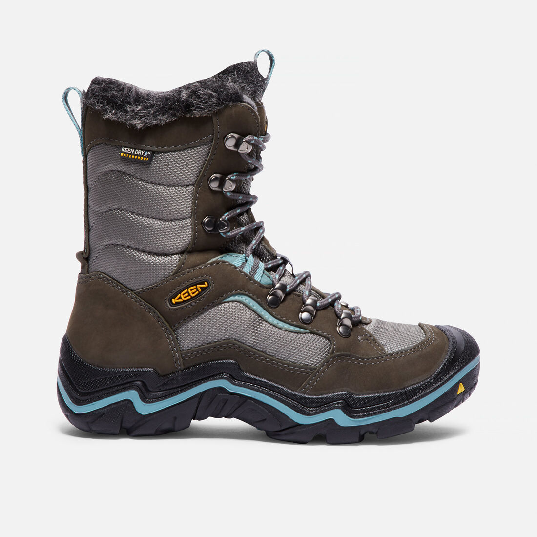 Women's Durand Polar Waterproof in Magnet/Mineral Blue - large view.