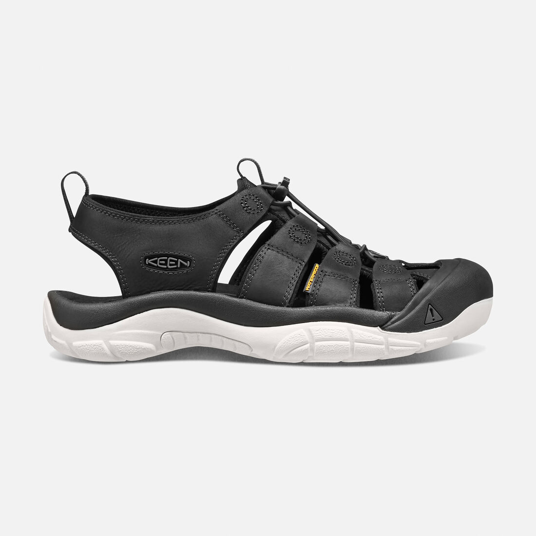 Men's NEWPORT ATV in Black/Star White - large view.