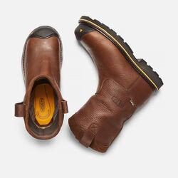 Men's Dallas Wellington (Steel Toe) in Dark Brown - small view.