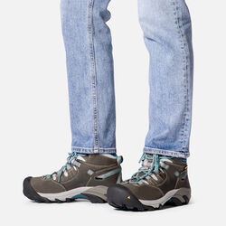 Women's Detroit Mid (Steel Toe) in  - on-body view.