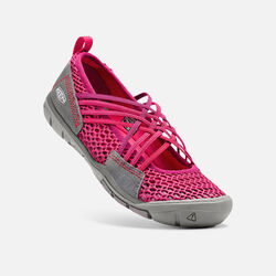 Women's ZEPHYR CRISS CROSS CNX in Anemone/Raspberry - small view.