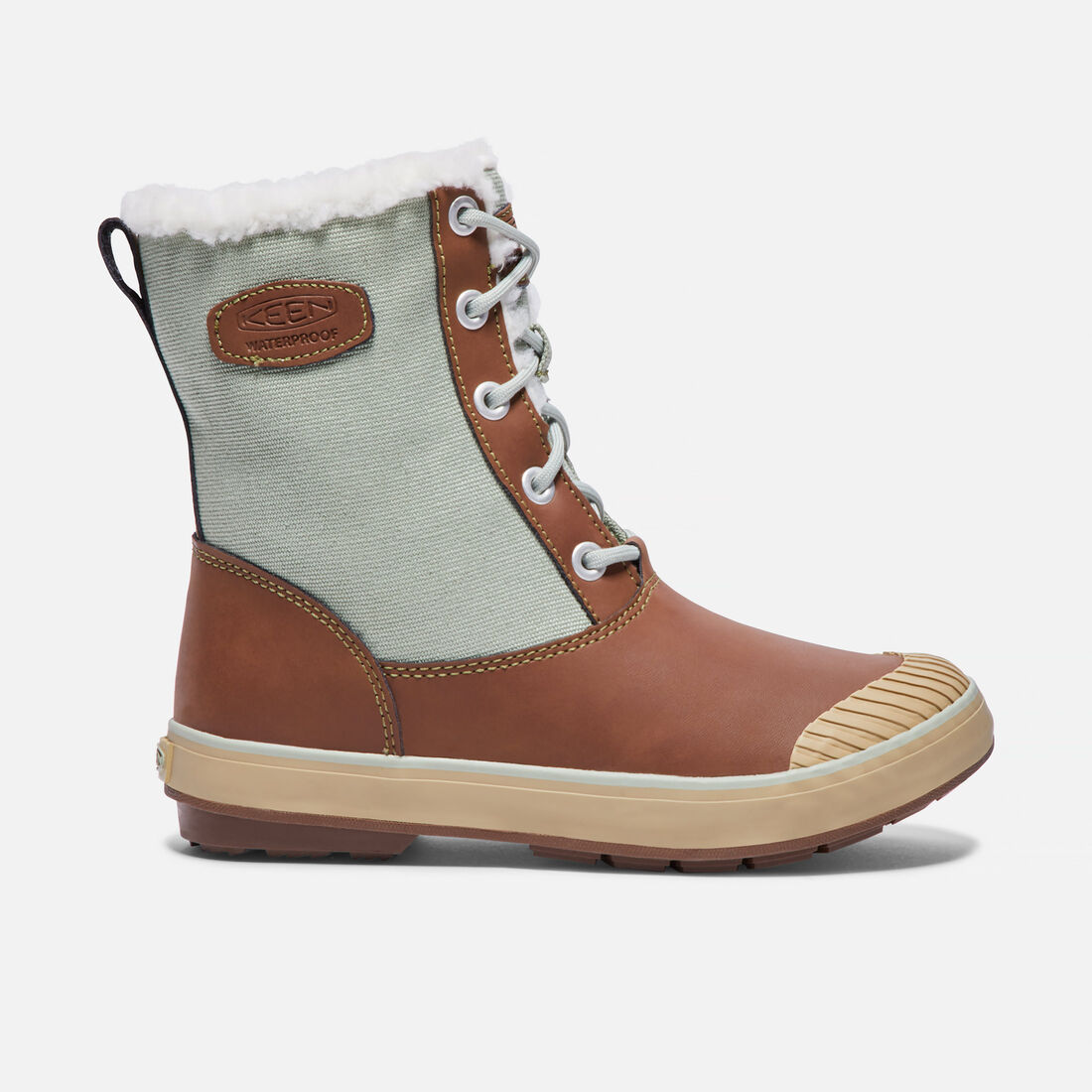 Women's Elsa Boot in Cocoa/Desert Sage - large view.