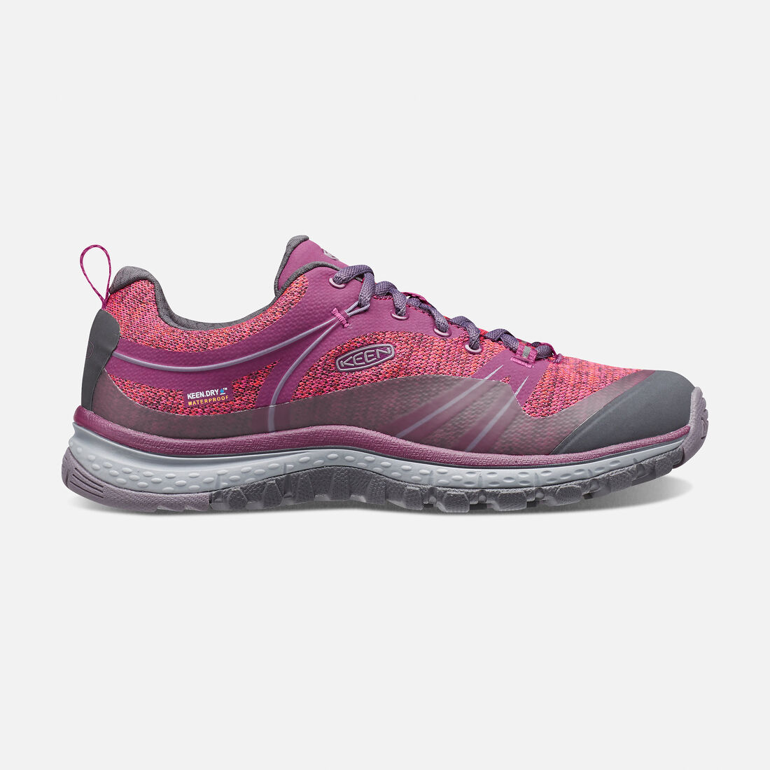 Women's TERRADORA Waterproof in Dark Purple/Purple Sage - large view.