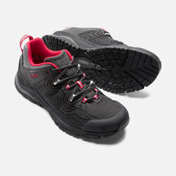 Men's APhlex Waterproof in Black/Tango - small view.